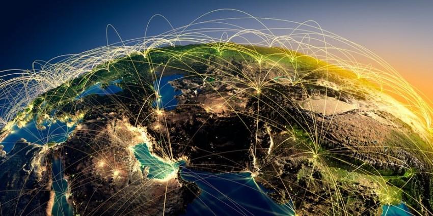 Internet, ziemia, hosting, bluserwer