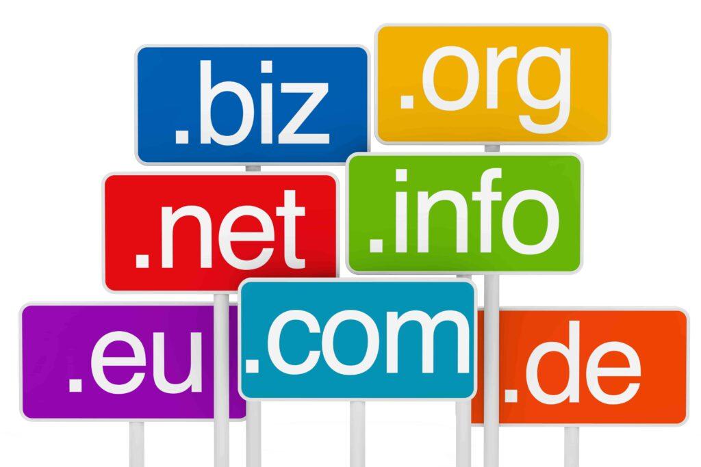 Rozszerzenia domen internetowych